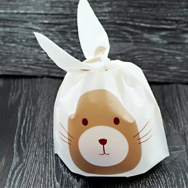 可愛熊禮物袋