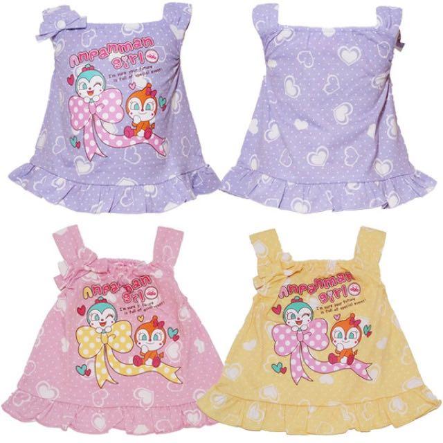 麵包超人夏季新款小洋裝(日本直送,正版商品)