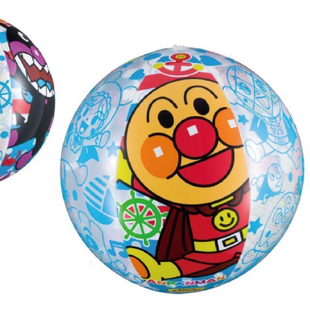 麵包超人新款海灘球(日本直送,正版商品)