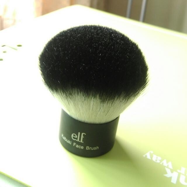 免運[E.l.f kabuki face brush] elf kabuki蜜粉刷