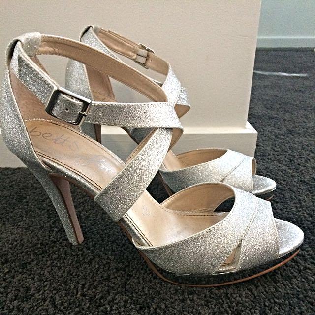 Betts Silver Heels