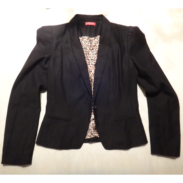 Black Blazer/Size 10
