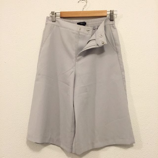 Forever21 Grey Culottes