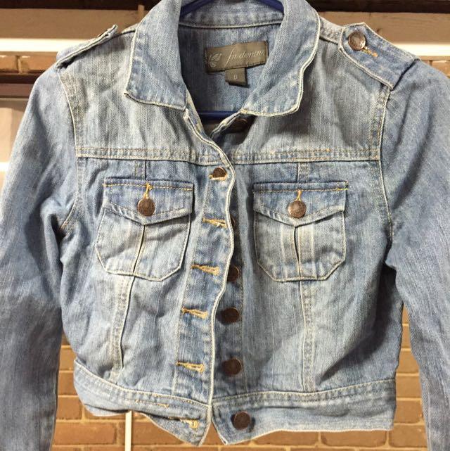 Forevernew Demin Crop Jacket