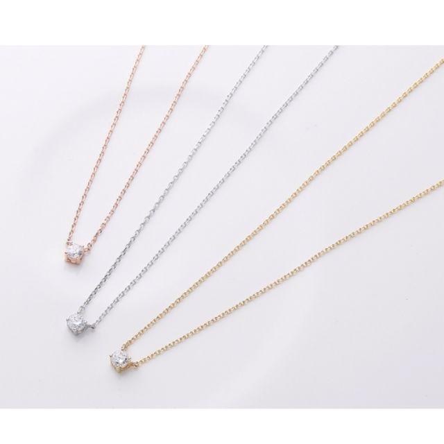 ForPrincess 韓國飾品鎖骨鑽石短項鍊