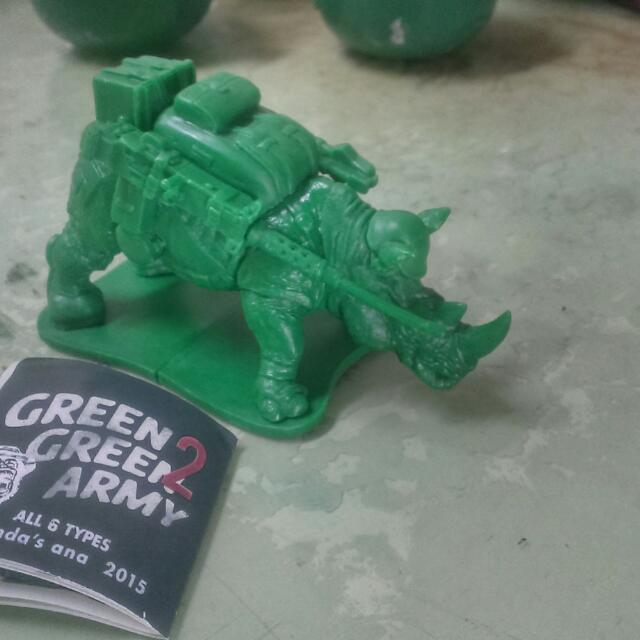 Green green army 2 綠色動物士兵