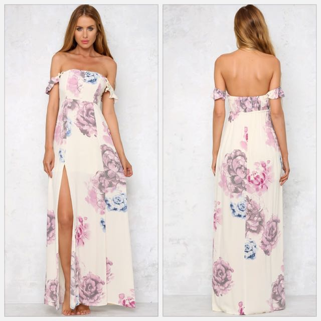 Hello Molly Floral Maxi Dress