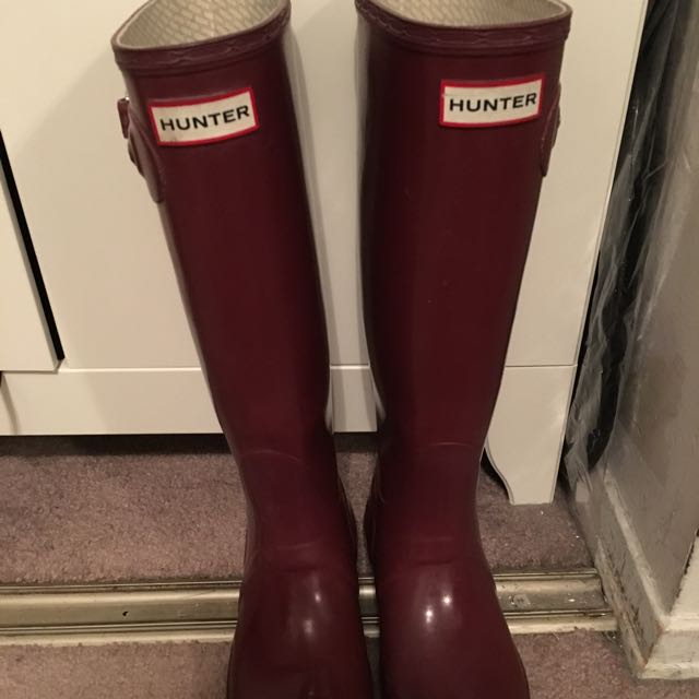 HUNTER MAHOGANY SZ 6