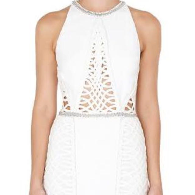 j p  Sass & Bide Too Much Information Woven & Embellished Dress
