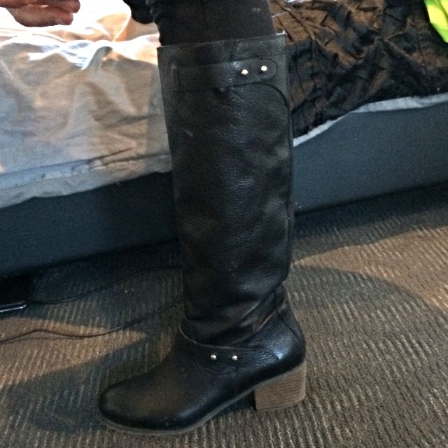 Leather Whittners Boots