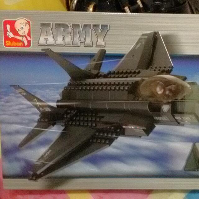 Lego in Army by SLUBAN (252 pcs)
