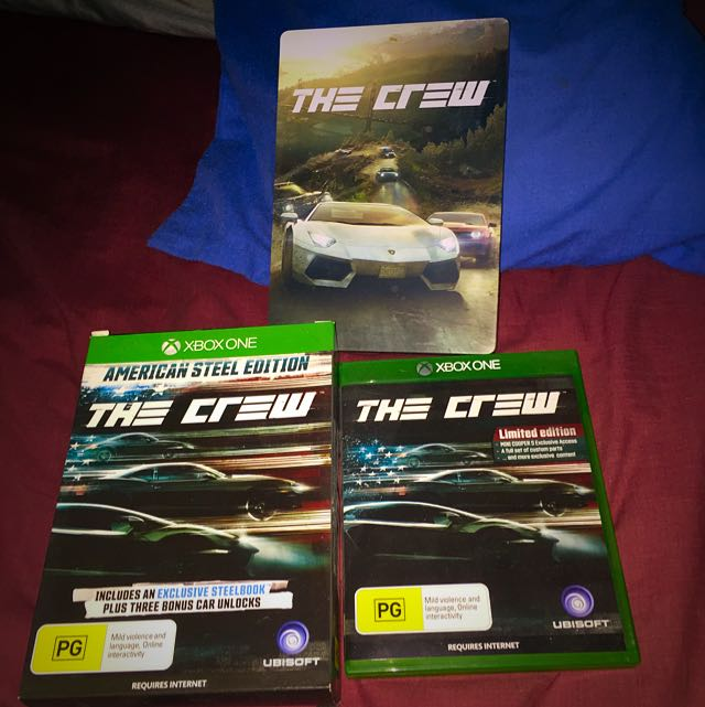 LIMITED EDITION The Crew Xbox One