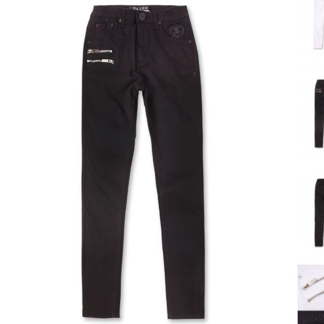 major 黑色長褲💕💕💕
