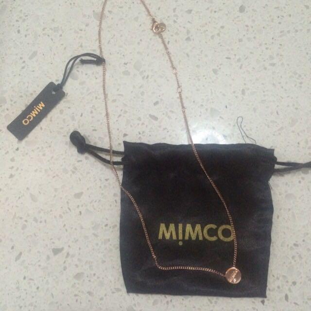Mimco Big Bang Short Necklace