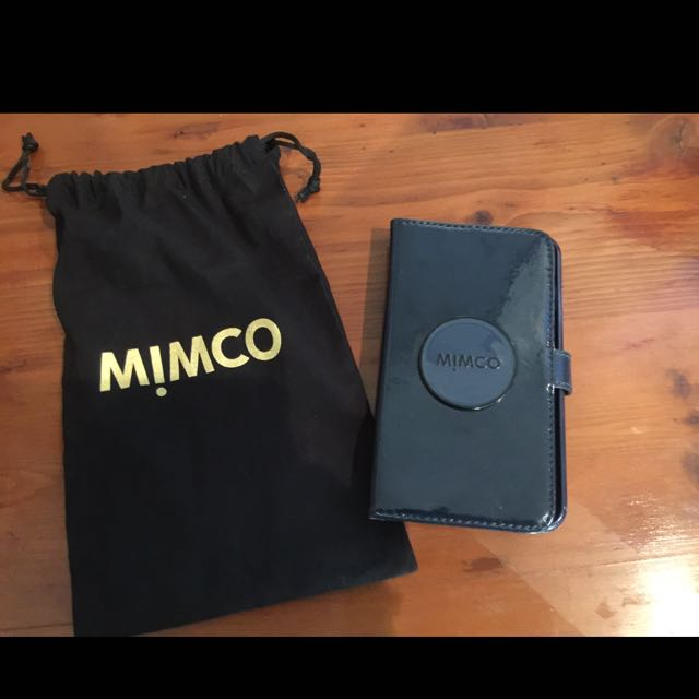 Mimco Leather Flip Case For iPhone 6s