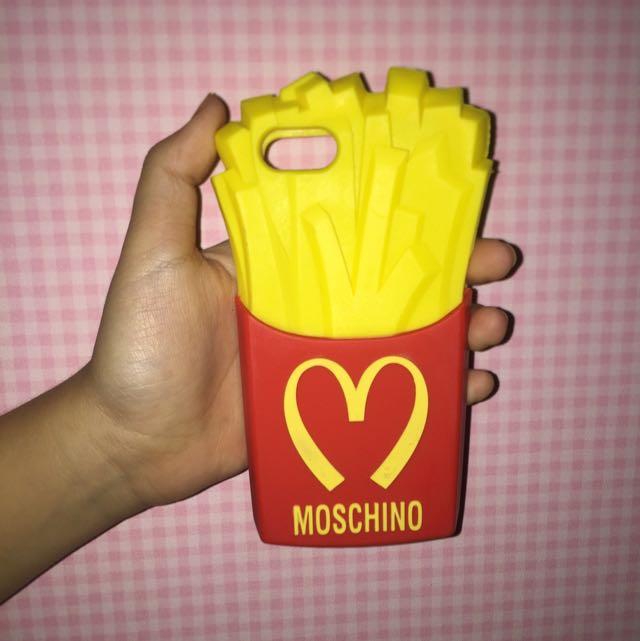 MOSCHINO FRENCFRIES CASE