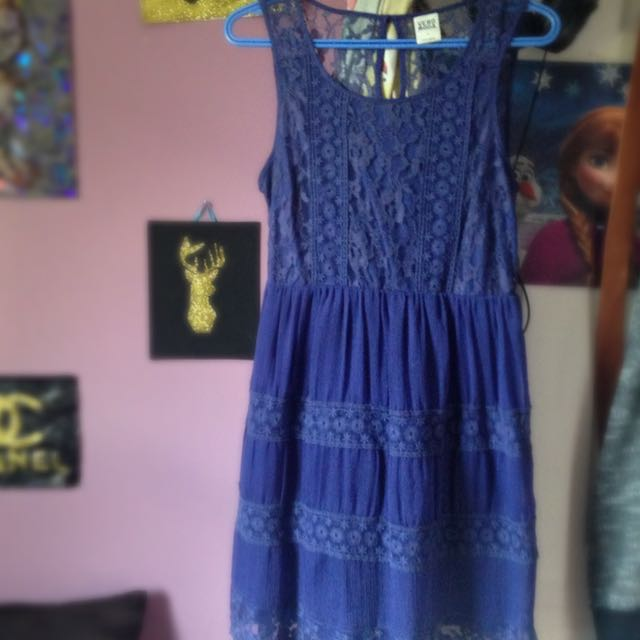Navy Blue Veramoda Dress