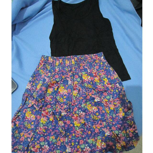 New! 1 Set Flower Skirt