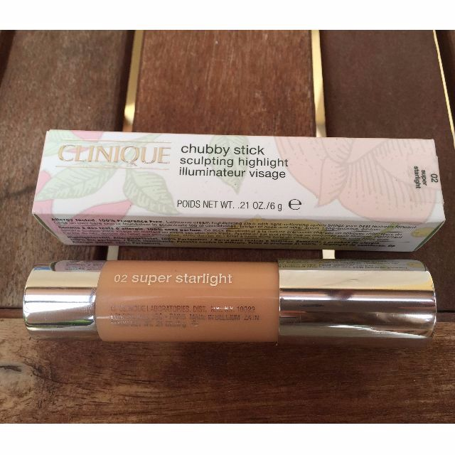 NEW - Clinique Highlighter Chubby Stick (02 super starlight)