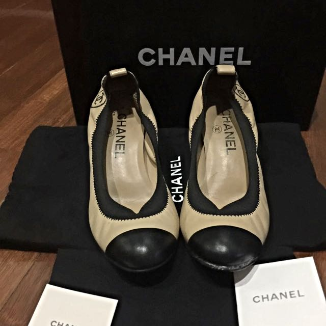 (REPRICED) PRELOVED Authentic Chanel Heels Size 37