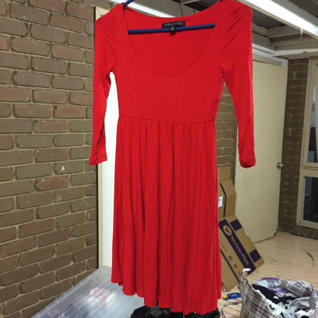 Red Forever New Dress