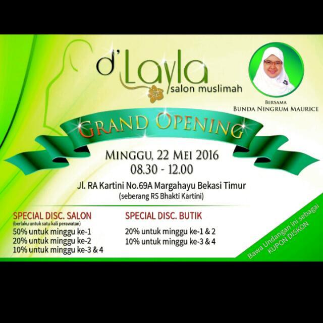 Salon Muslimah d'Layla