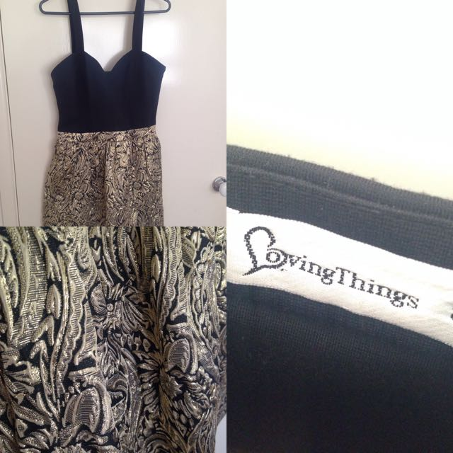 Size 8 Loving Things Cocktail Dress