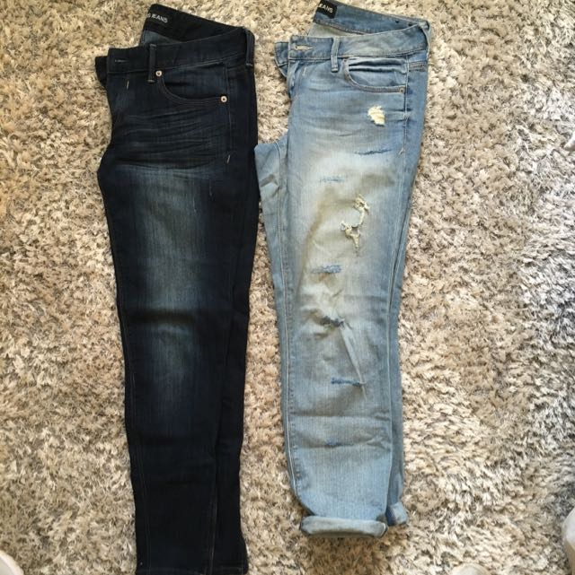 X2 Pairs Express Jeans