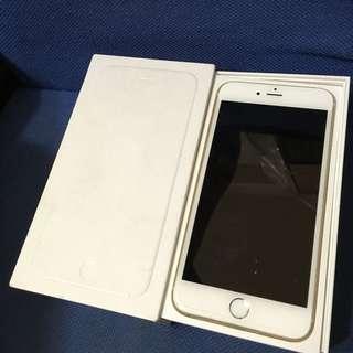 Iphone6plus 64g金 盒裝完整 99成新 只要$14500