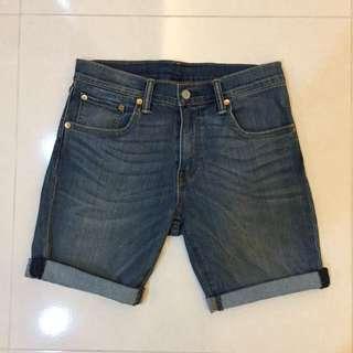 Levis 502短褲