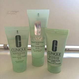 Clinique Toners all for $4