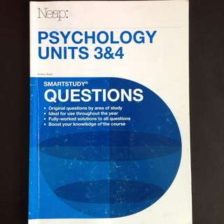 VCE Psychology 3/4 NEAP question book