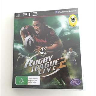 Playstation 3 NRL Game