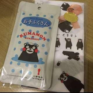熊本熊小方巾組