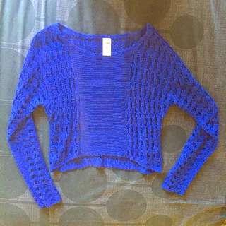 Crop Top Mid drift Knit