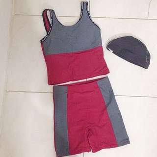 <DISKON> Fitness Set (swimwear)