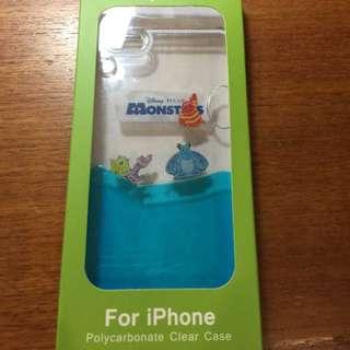 iPhone6 Plus 5.5吋 硬殼 手機殼 迪士尼 怪獸大學 水族箱 液體 透明 大眼仔 毛怪