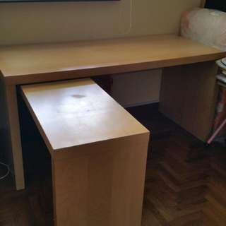 Ikea Study Table  (Used)
