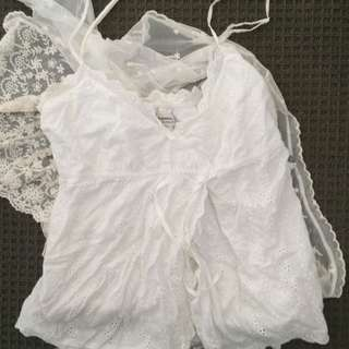 pretty just jeans strappy summer top size 8