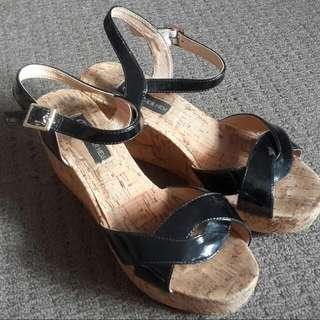 Forever New Wedges (size 7)