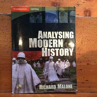 Analyzing Modern History Richard Malone