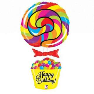 Supershape LOLLYPOP Balloon