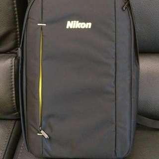 Nikon 黑色相機背包(原廠全新)