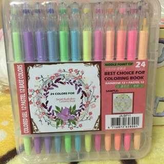 24色粉彩筆