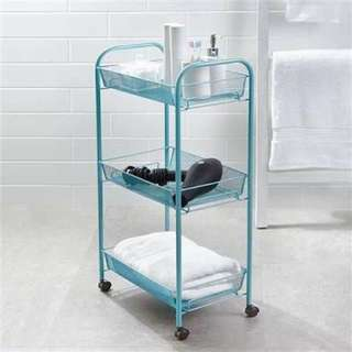 Kmart Bathroom Trolley - Blue