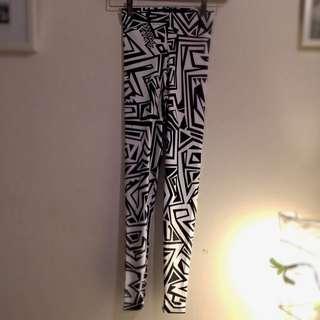Black Milk Limited Edition Geometric Print Leggings Tights