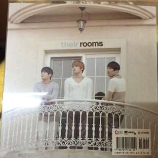 JYJ 韓文專輯cd 日記筆記本