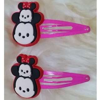 Item 10) Mickey n Minnie Clip