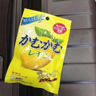 5月連線商品 維他命c檸檬糖