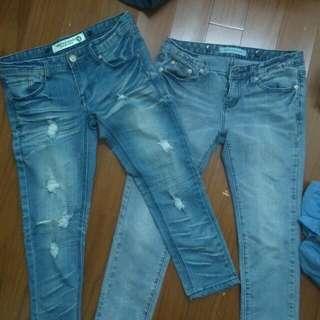 7分牛仔褲 (金錢or換物)
